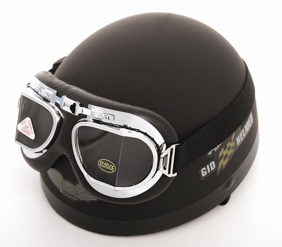 Hjälm med glasögon Mattsv M 9d4e4ac16fd0e