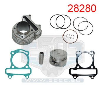 Cylinder Baotian/Kymco/Gy6 85cc 51Mm