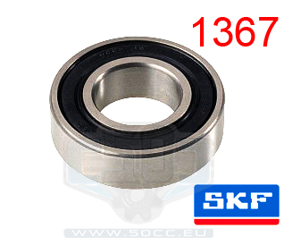 Lager 12X28X8 6001 2Rs1 SKF