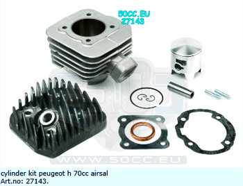 Cylinder Peugeot H 70Cc Airsal Tech 6 47.6mm
