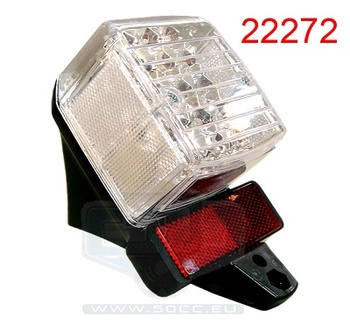 Baklyse Tomos A3/A35 Led  (Puch Pearly)