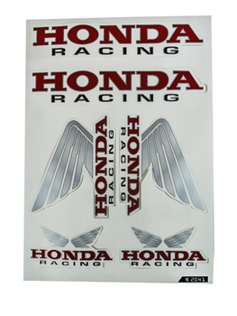Dekal Honda Racing Set