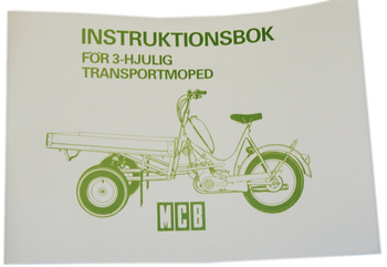 Instruktionsbok Flakmoped 1189
